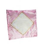 Наволочка Атласная (светло розовый) 40 х 40 см для сублимации