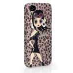 ODOYO Чехол для Iphon 4/4S ASTERIA ANIMAL PRINT
