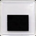 Магнит акриловый (65х65 мм) заготовка под полиграфическую вставку, прозрачный