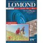 Фотобумага LOMOND 270/A4/20л. СУПЕРГЛ  (Warm)