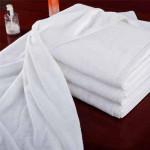 Полотенце банное  белое 80 х180 см для сублимации