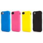 Чехол для iPhone 4/4S (пластик, синий) для сублимации