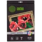 Холст Cactus CS-СA426010 A4/300г/м2/10л. хлопок для струйной печати