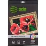 Холст Cactus CS-СGA426010 A4/340г/м2/10л. глянцевая хлопок для струйной печати