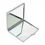 Зеркальце для сублимации (квадратное, скругленные углы, серебро)