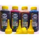 Комплект чернил OCP для картриджей HP #655 (BKP 249, C/M/Y 343), 100 gr x 4
