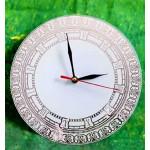 Часы для сублимации BL- 44 D = 20 см (стеклянные, круг, зеркальный циферблат)