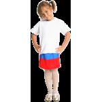 Футболка Детская, двухслойная, 40 для сублимации