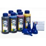Комплект чернил ОСР для EPSON* T048 картриджей (BK73/ C76/ M72/ Y61/ ML73/ CL77) (R200) 100gr x 6