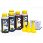 (HP 178/5) Комплект чернил OCP (BKP249, BK143, C143, M143, Y143) для HP Vivera 178 100 gr x 5