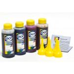 (HP 21/22/4x) Комплект чернил OCP (BKP 249, C760/M758/Y 752) для HP 27,56,21/22,28,57,78 100 gr x 4