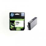 HP № 178 XL Картридж фото черный  , 8 мл. для Photosmart C5383/C6383/D5463, Pro B8553