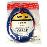 Кабель VCOM соед.USB - AmBm 1,8м REV2.0