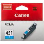 Картридж CANON (CLI-451C) голубой/7 мл/332 стр