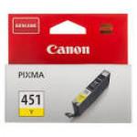 Картридж CANON (CL-451 Y) желтый/7 мл/329 стр