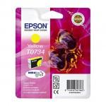 Картридж Epson T0734 Yellow (ориг.)