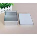 Металлическая коробка 19,5х12,5 см с пластиной для сублимации