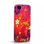 ODOYO Чехол для Iphone 4/4S FIESTA COLLECTION (Raspberry)