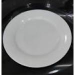 Тарелка фарфоровая белая  d - 25