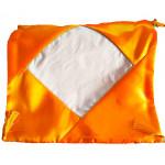 Наволочка Атласная (золотисто-желтый) 40 х 40 см для сублимации
