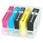 Нано-картриджи BURSTEN I CH4 с чипами  HP5510/5515/6510/B010b/B109c/B110a178x4, с наполнителем США