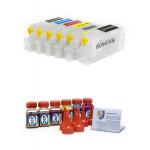 Комплект CAN MG6140, MG8140 нано-картриджей BURSTEN 2-го поколения  для принтеров (PGI-425Bk CLI-42