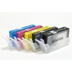 Нано-картриджи BURSTEN 178/920 I CH4 для HP с картриджами 178/920  x5, с наполнителем США