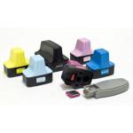 Нано-картриджи BURSTEN 2-го поколения CH2 для принтеров HP с картриджами 177 (177B/C/M/Y/LC/LM)  x6