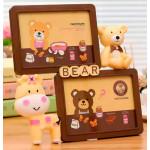 Фоторамка Teddy bear двойная 17,5 x 12,7 см