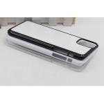 Чехол для Apple iPhone 11 Pro Max / Iphone6.5 Пластик ( черный ) для сублимации