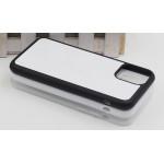 Чехол для Apple, iphone11 / 6.1 Силиконовый ( белый ) для сублимации