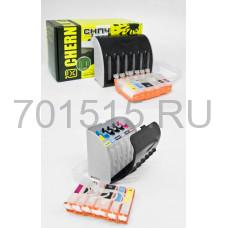 СНПЧ для CANON iP4840 MG5140 MG5240 (PGI-425PGBk CLI-426BK CLI-426C CLI-426M CLI-426Y) x5 с чипами