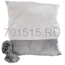 Наволочка - Муфта (ВЕЛСОФТ СЕРАЯ) 40х40 см для сублимации