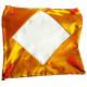 Наволочка Атласная (золотисто-оранжевый) 40 х 40 см для сублимации